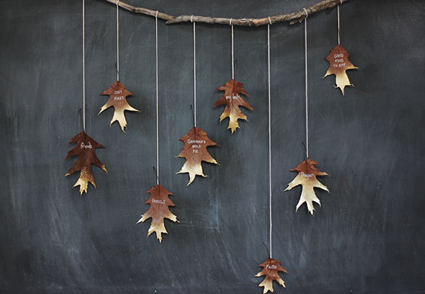 Diy-gold-leaf-garland